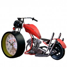 Часы настольные Ретро мотоцикл