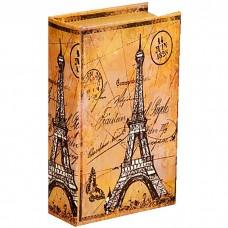 Сейф дерево книга Парижские тайны